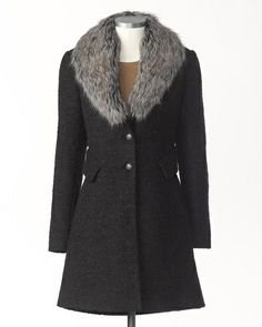 Daily luxury coat. I think I would remove the false pocket flaps so I wouldn't have wings