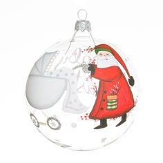 Old St. Nick Baby's First Christmas Ornament | VIETRI
