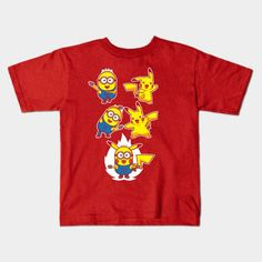 Pikaminion Fusion Young T-Shirt