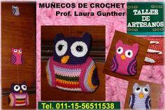 Muñecos en Crochet www.cursosdeartesanos.com Tel. 011-15-56511538