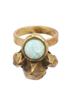 Opal Cluster Ring | Wear this statement alone or stacked with others!
