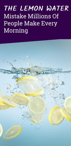 The Lemon Water Mistake Millions of People Make Every Morning Herbal Cure, Herbal Remedies, Health Remedies, Home Remedies, Natural Remedies For Heartburn, Natural Teething Remedies, Health And Safety, Health And Wellness, Hot Flash Remedies