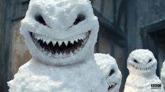 Doctor Who The Snowmen... those are some scary lookin snowmen
