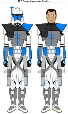 ARC Trooper Commander Poseidon by MarcusStarkiller