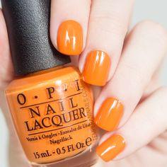 OPI Orange You Stylish 15ml | #EssentialBeautySwatches | BeautyBay.com