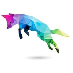 Polygon Animals on Behance