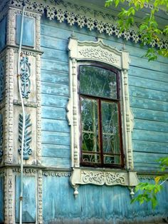 Window with Beautiful detail.
