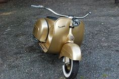 Vespa Low Rider – the scooter rider