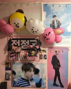 Army Room Decor, Aesthetic Rooms, Kpop Aesthetic, Kpop Merch, Room Tour, Room Inspiration, Decoration, Parks, Crafts
