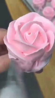 Piping tips for flowers. Watch how easy you can make these beautiful roses:) Good luck! Check the link for details.