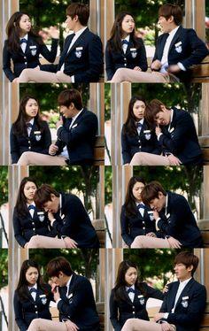 cha eun sang & kim tan! Not many people know this... but i love kdrama :D haha