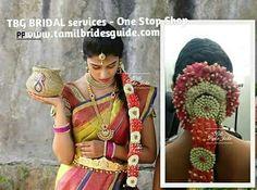 Find us at www.tamilbridesgu… to book our artists. Ca… TBG Bridal Wedding … Asian Bridal Wear, Indian Bridal Makeup, Bridal Hair, Sarees, Lehenga, Wedding Types, Hindu Bride, Wedding Silk Saree, South Indian Bride