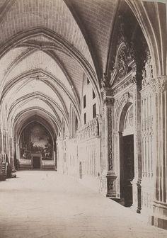 Claustro de la Catedral de Toledo en 1886 © Archives départementales de l'Aude - Eduardo Sánchez Butragueño