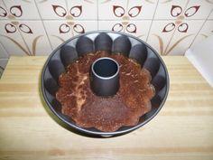 Flan casero de huevo y chocolate