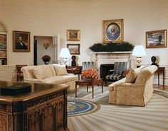 The Eisenhower Oval Office circa 1956 Oval Office Re