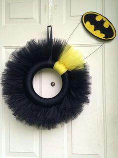 Batman wreath