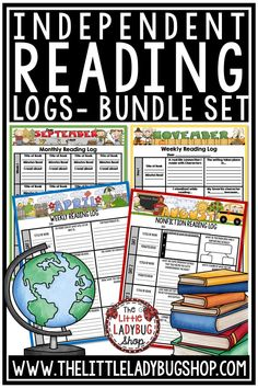 Keep your students accountable and engaged in their reading. This resource provides a variety of differentiated logs targeting different Comprehension Skills. These Independent Reading Logs Activity Packet is perfect for students in 2nd Grade, 3rd Grade, 4th Grade and home school classrooms. #readinglogs #accountablereading #independentreading