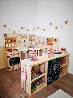 Kinderküche selber bauen: 5-Schritte-Anleitung #DIY #Kinderküche