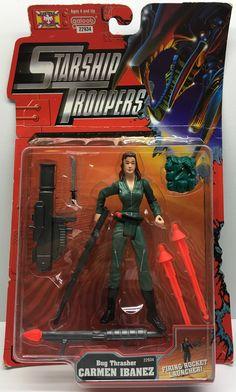 (TAS033001) - 1997 Galoob Starship Troopers - Bug Thrasher Carmen Ibanez