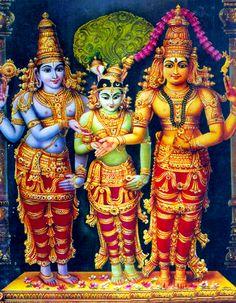 Marriage of Lord Shiva and Goddess Parvati Shiva Parvati Images, Shiva Shakti, Lord Murugan Wallpapers, Hindu Statues, Lord Shiva Family, Lord Shiva Painting, Tanjore Painting, Krishna Art, Shri Ganesh