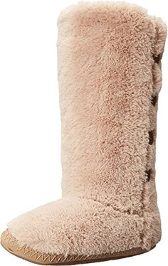 Bedroom Athletics Women's Grace Gingerbread Slipper SM (US Women's 5-6/UK Women's 3-4) M -- Check out the image by visiting the link.