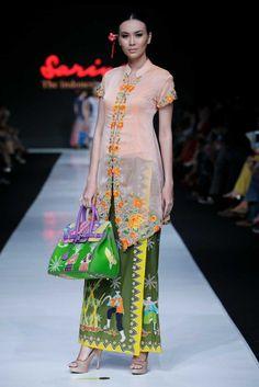 Sarinah Spring 2014. Jakarta Fashion Week
