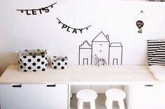 Zó berg je speelgoed (stylish) op in de woonkamer
