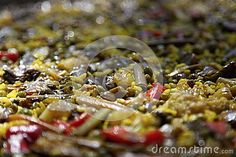 Paella detail - - royalty free stock photo. Buy high resolution image on Dreamstime: http://www.dreamstime.com/stock-photography-image59271095#res11675930