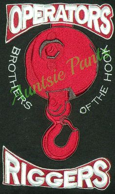 Brothers of the Hook -occupation embroidery shirt. $45.00 Auntsie Pants  (409) 659-4638