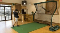 In house / office golf net for the keen golfer who. Now you can take time out of your day to practice your swing. Great gift for guys or girls