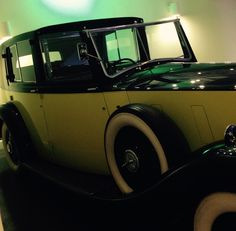 Goldfinger's Rolls in the  Bond in Motion  Museum
