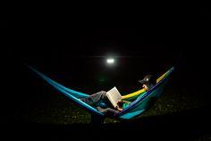 Eno Eagles Nest Outfitters Moonshine lanterne pour Eno Hamacs-Violet