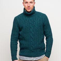 #NothSails #Fall #Winter #2013 #2014 #Man #RollNeck #Sweater #Wool Roll Neck Sweater, Men's Collection, Knitwear, Sportswear, Fall Winter, Turtle Neck, Wool, Sweaters, Jackets