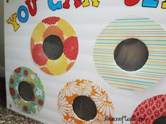"this is such a fun game for primary singing time - the kids get to punch a hole and get the slip of paper with the song on it from inside the empty can. could use this for other things too - chores, family home evening, ""i'm bored"" activities, etc. - your kids are going to love this! 