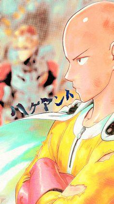 One Punch Man - Saitama Saitama, Gorillaz, Manga, Metal Bat, One Punch Man Anime, Fujoshi, Mobile Wallpaper, Me Me Me Anime, Anime Art