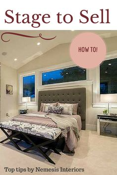 A simple, cost effect guide to stage your home. Top 5 tips on how to sell your house quickly for more money Estate Sell Your House Fast, Selling Your House, Real Estate Staging, Home Staging Tips, Home Hacks, Home Buying, House Plans, New Homes, Stage