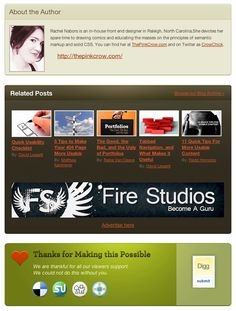 48 Excellent Examples Of Blog Post Footer Designs
