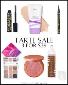 Tarte sale 3 for $39! Tagging some of my favorite products! #LTKsalealert #LTKunder50 #LTKbeauty Bombshell Beauty, All Things Beauty, Bombshells, Cosmetics, Products, Gadget