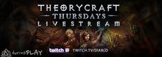 Diablo 3, geçen hafta Theorycraft Thursday canlı yayın açılışını yaptı Açılışı kaçıranlar Twitch http://ali.tc/diablo-round-1-livestream-vod-sizlerle/2933/