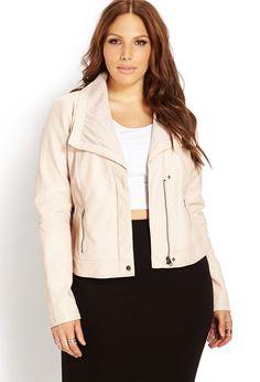 plus size colorful leather jackets   plus size clothing sizes 12 20 city chic faux leather jacket women s ...
