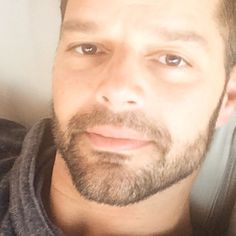 "By @ricky_martin on IG ""Feeling at ease! Siento calma. Q suerte!"""