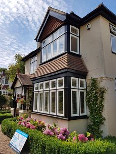 Beautiful Tudor Style installation by GHI Tudor Style Homes, Tudor House, Home Improvement, British, Exterior, Houses, Windows, Traditional, Mansions
