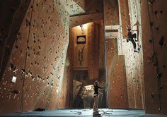 David Hobby (The Strobist) - such gorgeous lighting...not what you'd expect in a climbing gym!