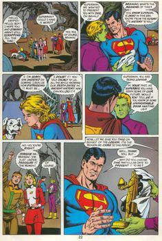 The Legion Of Super Heroes Give Superman A Subtle Clue For His Final Battle
