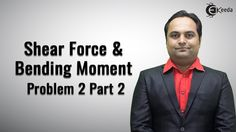 Shear Force and Bending Moment Video Tutorials Online | Problem No. 2 Pa...