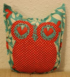Giddy Owl Friend by makemorefriends on Etsy, $20.00