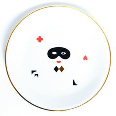 Mask - illustrated plate