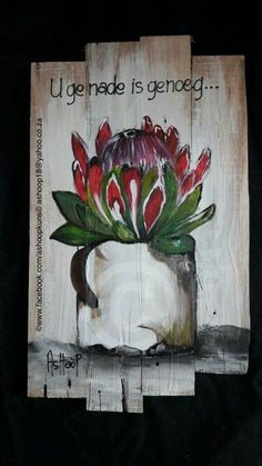 African Life, African Babies, Protea Art, Crown Template, Arts And Crafts, Diy Crafts, Painting Quotes, Wooden Crafts, Diy Flowers