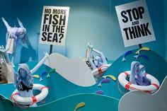 Selfridges project ocean window - Responsibility
