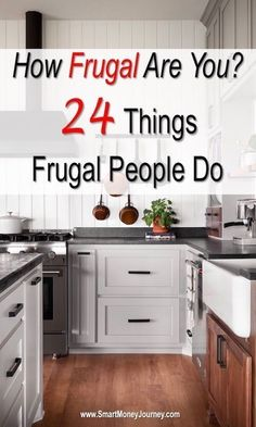 How Frugal Are You? Simple Living Tips – Smart Money Journey How Frugal Are You? 24 Things Frugal People Do – Smart Money Journey Ways To Save Money, Money Tips, How To Make Money, Money Plan, Money Hacks, Earn Money, Frugal Living Tips, Frugal Tips, Frugal Family